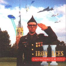 Iron Aces II: The Soundtrack CD Cover